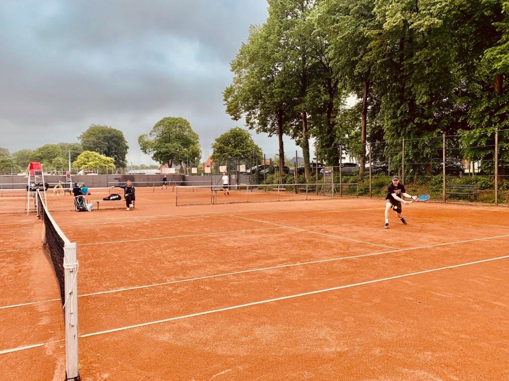 Tennis match VTK